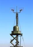 Station radar ou contrôle de l'espace aérien Image libre de droits