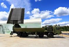 Station radar ou contrôle de l'espace aérien mobile Photos stock