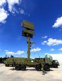 Station radar ou contrôle de l'espace aérien mobile Photographie stock