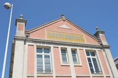 Station Saint Brieuc Stock Photography
