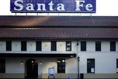 Station Santa Fe i San Diego royaltyfri fotografi