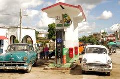 Station service au Cuba Images stock