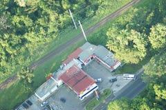 Station service à distance Image libre de droits