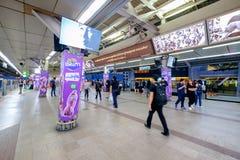 Station Siams BTS Lizenzfreies Stockfoto