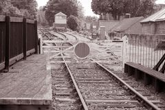 Station Siding Stock Image
