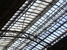 Station skylight Stock Photography