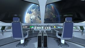 Station spatiale photos stock