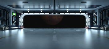 Station spatiale Image libre de droits