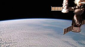 Station Spatiale Internationale Photographie stock