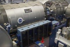 Station Spatiale Internationale DESTINY Mockup à la NASA Johnson Space Images libres de droits