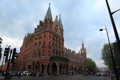 Station St. Pancras Londen royalty-vrije stock afbeeldingen