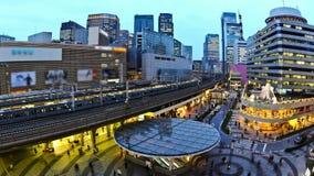 Station Stadt-Verkehrs-Zeitspanne-Tokyos Ginza