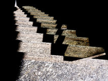 Station steps. Stone steps abstract background. Stock Images