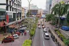 Station street, Johor Bahru Stock Photo