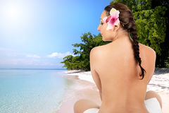 Station thermale Photographie stock