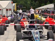 Station thermale - course de Francorchamps Belgique GT4 Photographie stock libre de droits