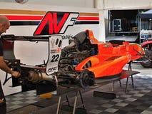 Station thermale - course de Renault de formule de Francorchamps Belgique Photographie stock libre de droits
