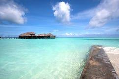 Station thermale dans les tropiques Image libre de droits