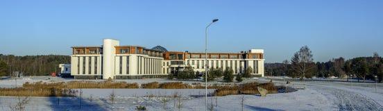 STATION THERMALE de minerai de Birstonas Vytautas Photo libre de droits