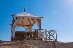 STATION THERMALE de plage Images libres de droits