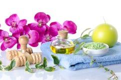Station thermale et concept de massage Images stock