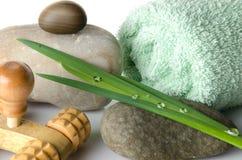 Station thermale et concept de massage Image stock