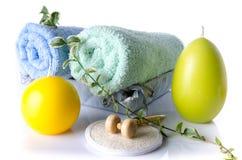 Station thermale et concept de massage Photos stock