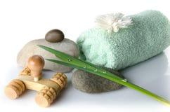 Station thermale et concept de massage Image libre de droits