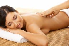 Station thermale et massage Photo libre de droits