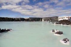 Station thermale géothermique en Islande Image stock
