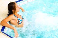 station thermale hydraulique de relaxation de massage de bain images libres de droits