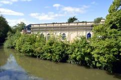 Station thermale royale de Leamington de salles de pompe Photos stock