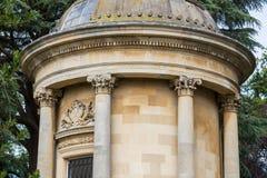 Station thermale royale de Leamington de jardins de Jephson Photographie stock
