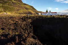 Station thermale volcanique de mer et x22 ; Termas DA Ferraria& x22 ; , Sao Miguel Photos stock