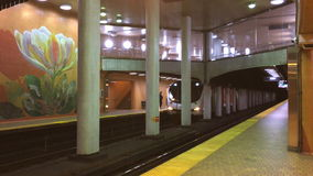 Station Toronto 4K Du Pont stock video footage