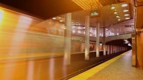 Station Toronto Timelapse 4K Du Pont dort sind z.Z. 4 U-Bahnlinien mit ersten im Jahre 1954 sich öffnen stock video footage