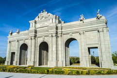 Puerta de Alcala Royalty Free Stock Image