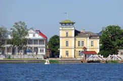 Station touristique Haapsalu photo stock
