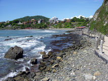 Station touristique mexicaine Photos libres de droits