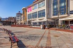 Station touristique Sopot Images stock