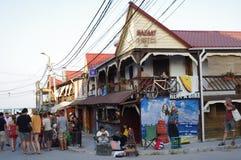 Station touristique sur la côte de la Mer Noire Photo libre de droits