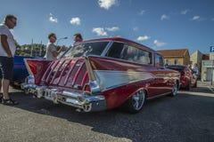 Station wagon 1957 del nomade di Chevrolet Fotografie Stock