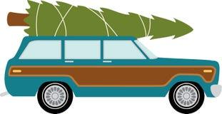 station wagon tree royalty free stock image. Black Bedroom Furniture Sets. Home Design Ideas