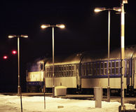 Station in Zelezna Ruda Tsjechische Republiek Royalty-vrije Stock Fotografie