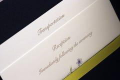 Stationair huwelijk Royalty-vrije Stock Foto's