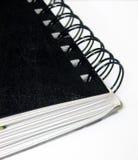 Stationaire - spiraal - verbindende nota's Stock Afbeelding