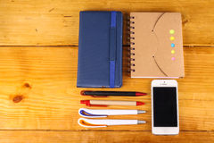 Stationaries Royalty Free Stock Photography