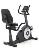 Stationary bike. Gym machine over white background Stock Photography
