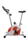 Stationary bike at the gym Royalty Free Stock Photos