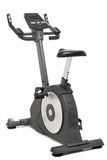 Stationary bike, gym machine Royalty Free Stock Photography